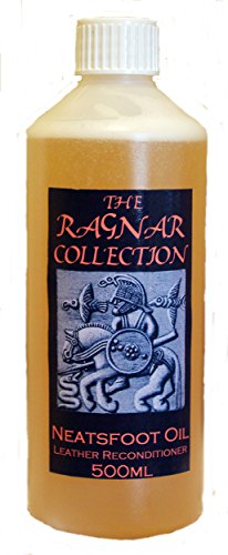 The Ragnar Collection Neatsfoot Oil - 500ml-Reconditions old, dried-out leather and softens new-FREE UK DELIVERY 1