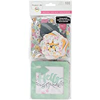 Project Life-Journaling Cards: Inked Rose. The Ideal Addition To All Your Scrapbooks And Photo Layouts. This Package Contains Twenty-Eight 4X4 Inch Die-Cut Cards In Seven Different Designs (Four Of Each), Twenty 2X2 Inch Die-Cut Cards In Five Differe...
