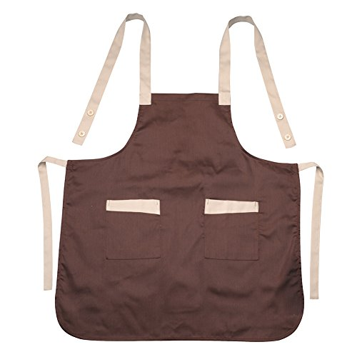AIHOMETM Korean Style Unisex Apron With Pockets for Restaurant Waiters Pub Waitress Bistro Barista - Coffee by AIHOME