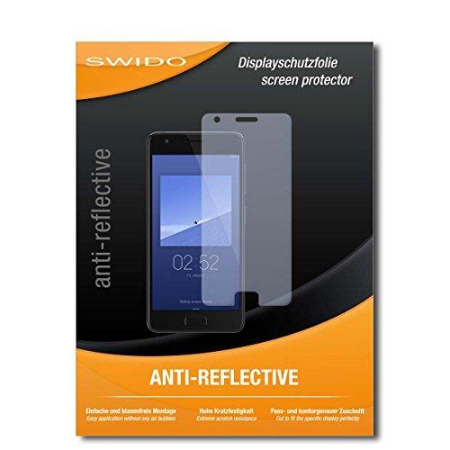 SWIDO Bildschirmschutzfolie für Lenovo ZUK Z2 [3 Stück] Anti-Reflex MATT Entspiegelnd, Extrem Kratzfest, Schutz vor Kratzer/Bildschirmschutz, Schutzfolie, Panzerfolie
