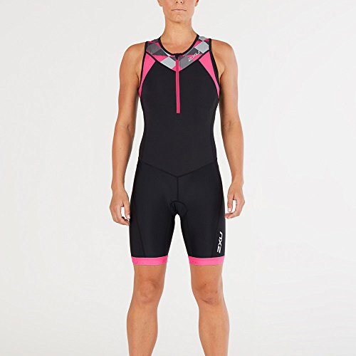 2 x u Women 's Active 2014 M Black/Retro Tri Pink Peacock