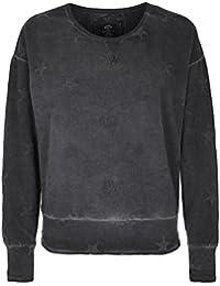 Better Rich Women's Casual Starred Long Sleeve Sweatshirt