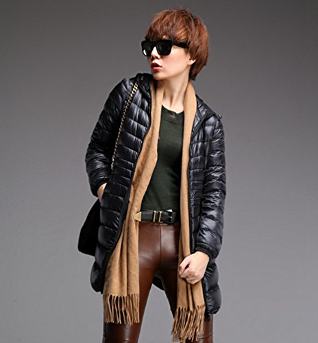 Zoom IMG-3 lvrao donna giacche di piuma
