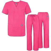 Uniforme Médico Unisex con Casaca y Pantalones - 701 Color GRM | Talla: M