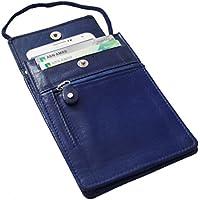 Safe Keepers petto sacchetto tasca sul petto petto sacchetto in pelle portafoglio petto sacchetto RFID da viaggio con protezione RFID affidabile tecnologia