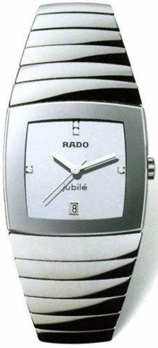 Rado Rado Sintra JUBILE Silber Zifferblatt Platin Keramik Mens Watch R13719702