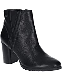 3d2ad964fc3 Hush Puppies Spaniel Womens Ladies Leather Ankle Boots Black - Black - UK  Sizes 3-