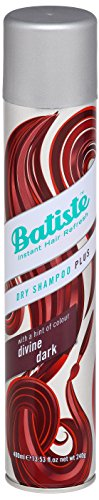 Batiste Dry Shampoo for Dark and Deep Brown Hair, 400 ml