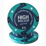 Fiches Ceramica EPT High Roller Replica Valore 25