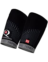 Compressport For Quad Trail - Calentadores de brazos de running para hombre, color negro/