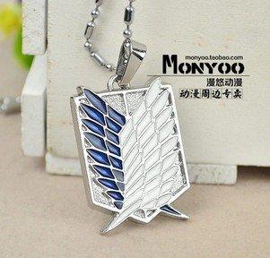 fate-gintama-tokyo-ghoul-one-piece-attack-on-titan-fairy-tail-sao-portachiavi-collana-pendente-badge