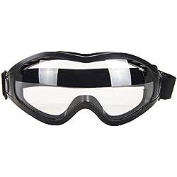 Babimax Masque de Soudeur Lunettes de Soudage Équipement de sécurité Lunette Protection Airsoft Lunette de Protection Travail Verres de Protection (B)