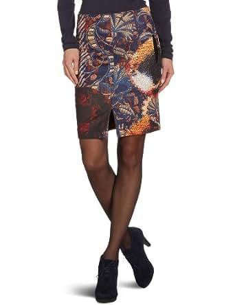 Desigual Etris Pencil Women's Skirt Tostado 10