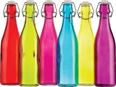 Kitchen Craft cwbot500astd 500ml Farbe funktioniert Glas Flasche mit Flip Top Deckel