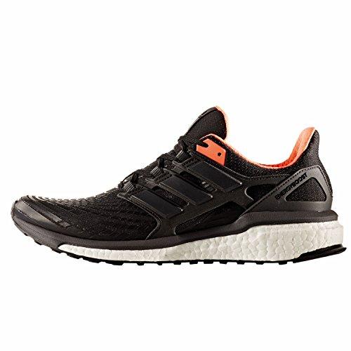 adidas Herren Energy Boost M Laufschuhe Mehrfarbig (Core Black/utility Black F16/solar Orange)