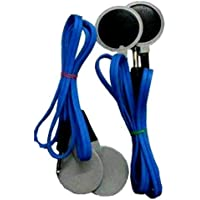 NARAYANI Traders® TENS Wire with TENS PAD (2 TENS Wire 4 TENS ELECTRODES PAD)