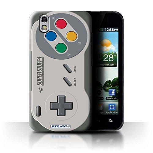 Stuff4 Hülle / Hülle für LG Optimus Black P970 / Super Nintendo Muster / Spielkonsolen Kollektion (Lg P970 Optimus Black)