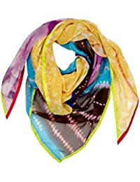 Villa Cashmere Scarves My Love 90 T S.BLUE,BROWN,PURPLE one size