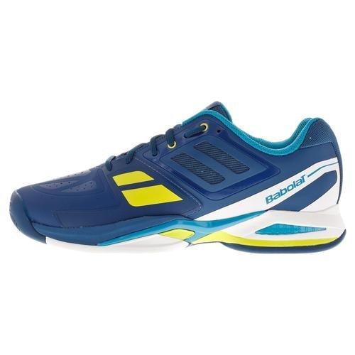 Babolat Propulse Team BPM AC All Court Tennis Tennisschuhe blau/gelb/weiß Blau