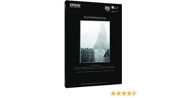 Epson C13s042300 Cold Press Natural Inkjet 340g M2 A3 25 Blatt Bürobedarf Schreibwaren