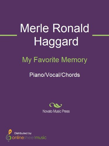My Favorite Memory Ebook Merle Ronald Haggard Amazon Kindle