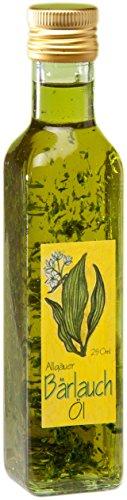 Bärlauch Öl aus dem Allgäu - 250ml Olivenöl mit intensivem Bärlauch Aroma