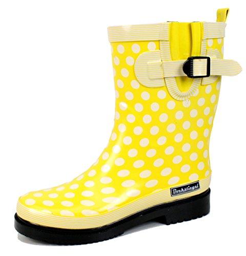 Bockstiegel Damen Gummistiefel Dorin, Farbe: Gelb, Größe: 39