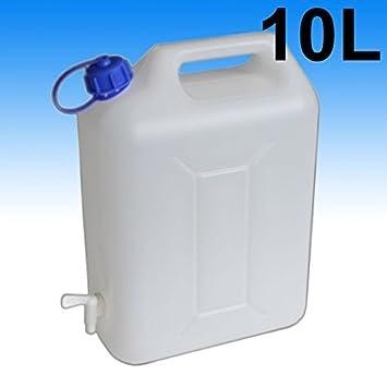 10l Wasserkanister Wasserbehälter Camping Tank Kanister faltbar mit Auslaufhahn