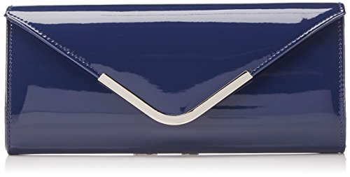 Bulaggi Party envelope 32489 Damen Clutches 27x12x4 cm (B x H x T), Blau (Dunkel Blau 43)