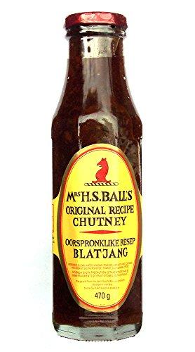 Mrs H.S. Balls Chutney 375ml - eine Flasche -