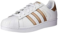 Adidas Women's Superstar Trainers Shoes, White (Ftwbla/Ciberm), 5.5 UK