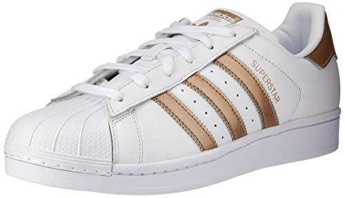 adidas Superstar, Baskets Femme, Blanc (Ftwbla/Ciberm 000), 39 1/3 EU