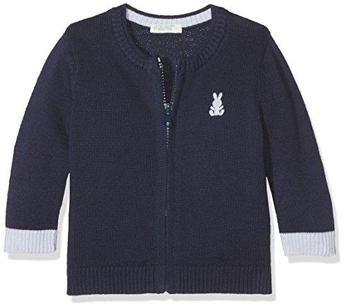 United Colors of Benetton Baby-Jungen Pullover L/S Sweater Blau (Black Iris 13C) 62