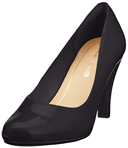 Clarks Damen Dalia Rose Pumps, Schwarz (Black Patent), 38 EU - Pumps Leder