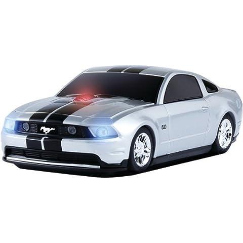 Ford Mustang GT Wireless Auto-Mouse (Argento/Nero) Senza fili ottico