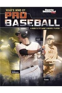 Who's Who of Pro Baseball: A Guide to the Games Greatest Players (Who's Who of Pro Sports) by Matt Chandler (2015-08-01)