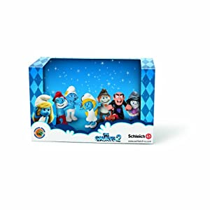 Schleich Los Pitufos - Pack Pitufos 4