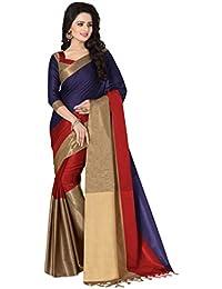 Venisa Women's 100% Mersurise Cotton Saree