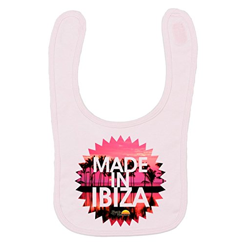 Lost In Summer: Made in Ibiza Bavoir - Rose, Taille Unique