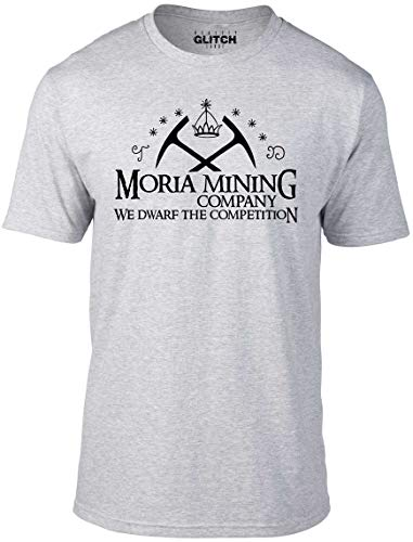 Bullshirt's Men's Moria Mining Company T-Shirt. Aaron Kleid