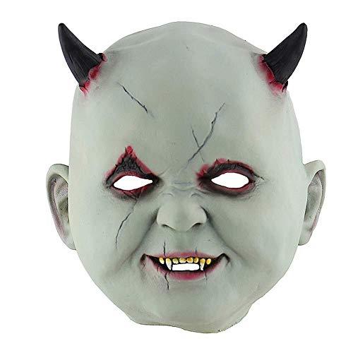 Latexmaske Scary Horror Erwachsene Masken Gekleidete Zombie Teufel Halloween Party Prop Maskerade Cosplay Alte Frau