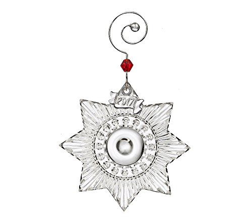 Waterford 2017 Miniature Star Crystal Christmas Tree Ornament Decoration Mini
