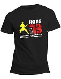 Bruce Lee Enter the Dragon Han's Island T-shirt
