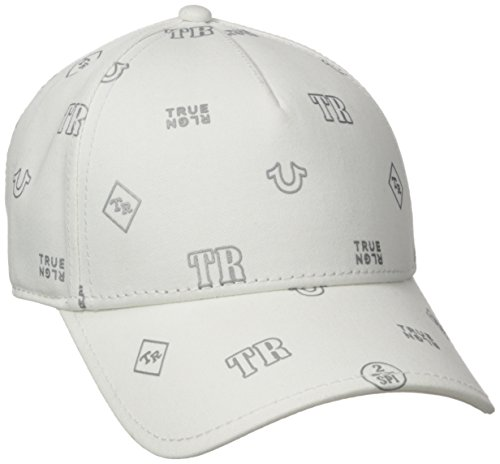True Religion Men s Monogram Tpu Twill Baseball Cap f15a49e52027
