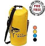 RevalCamp Dry Bag 5L Gelb - Nicht Krebserregendes PVC* - wasserdichte Tasche aus TPU - Kein übler...
