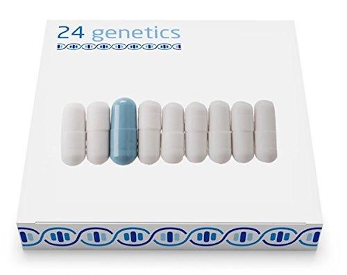 24Genetics - PHARMAKOGENETISCHER DNA-Test - Pharmakogenomischer Gentest - Enthält DNA-Kit