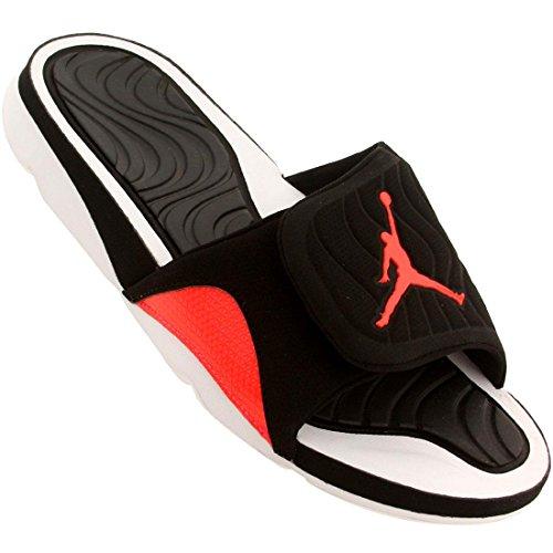 buy popular d7d3c 49c0b Nike 705163-021 Air Jordan Hydro 4 Mens Flip Flops Black ...