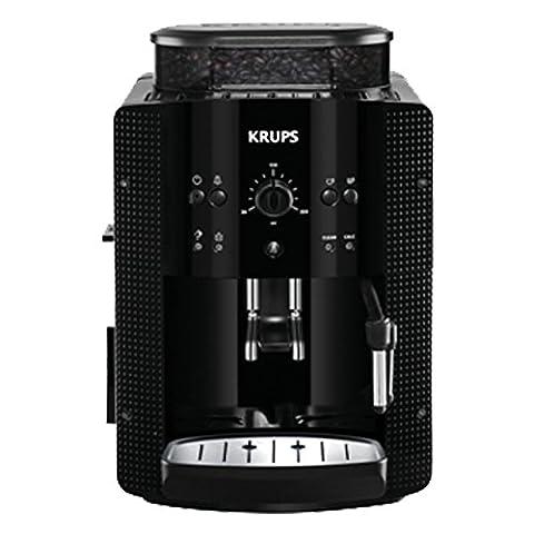 Krups YY8125FD Machine à Expresso Automatique Café Grains Manuel avec Broyeur Pression 15 Bars