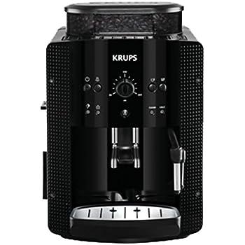Krups YY8125FD Machine à Expresso Automatique Café Grains Manuel avec Broyeur Pression 15 Bars Noir