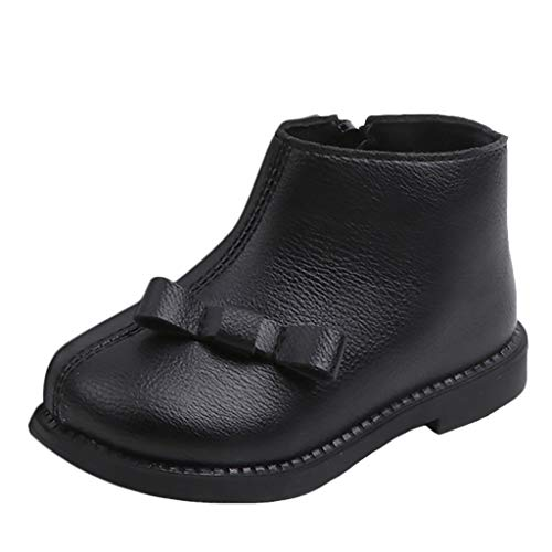 Scenxion Girls Leather Chelsea Dealer Nude Boots Toddler Infant Kids Baby Boys Girls Fashion Solid Ankle Sport Shoes Boots Baby Boys Girls Winter Thick Snow Boots Sneaker Kids Casual Shoes